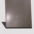 高比香檳金噴砂不鏽鋼板 豪華不鏽鋼門板材料 3