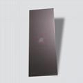 高比不锈钢板打砂真空镀棕金色 3