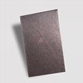 高比和纹茶色不锈钢 优雅家具金属制品材料 3