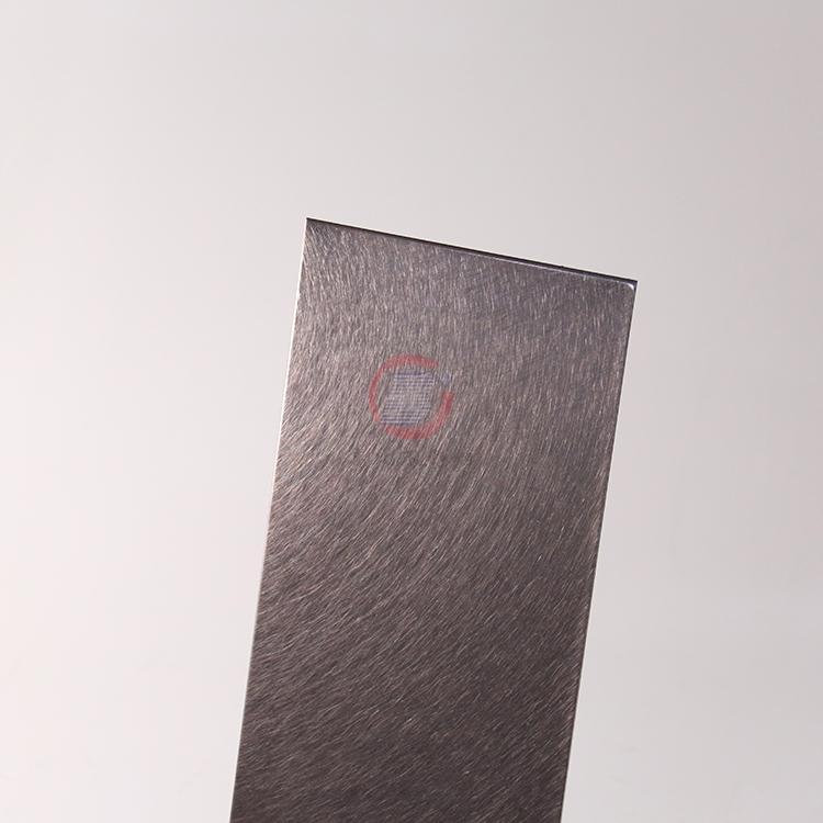 高比和纹茶色不锈钢 优雅家具金属制品材料 4