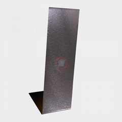 Gaobi Stainless steel, and grain, vacuum plated, dark black