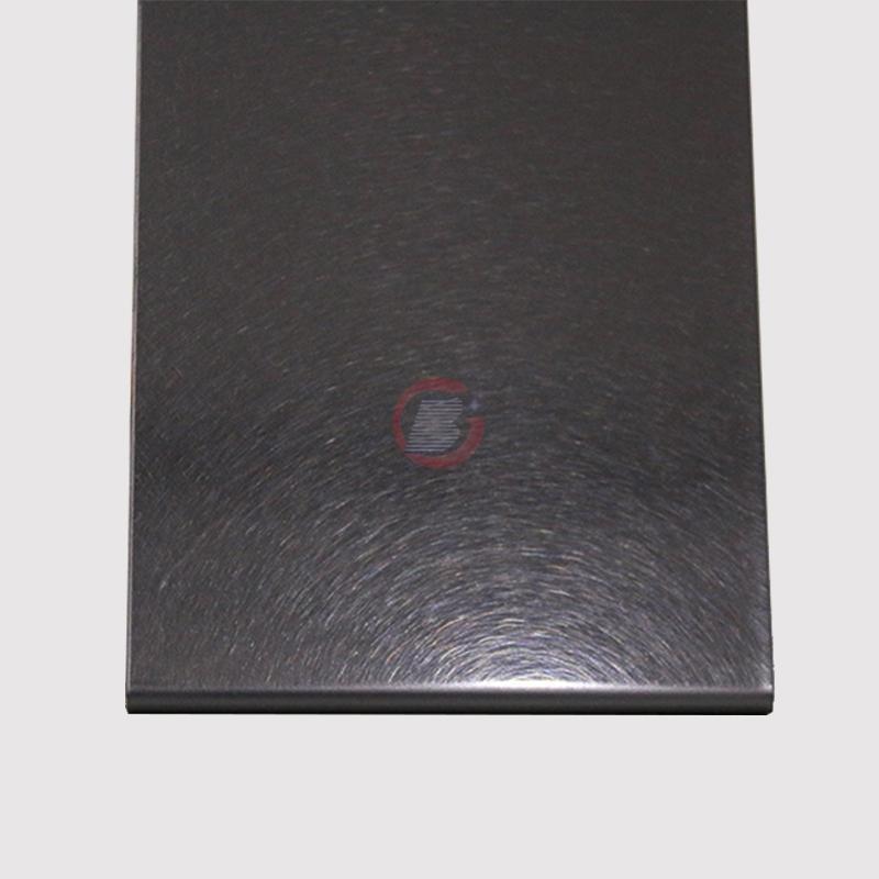 高比不锈钢和纹真空镀深黑色  4