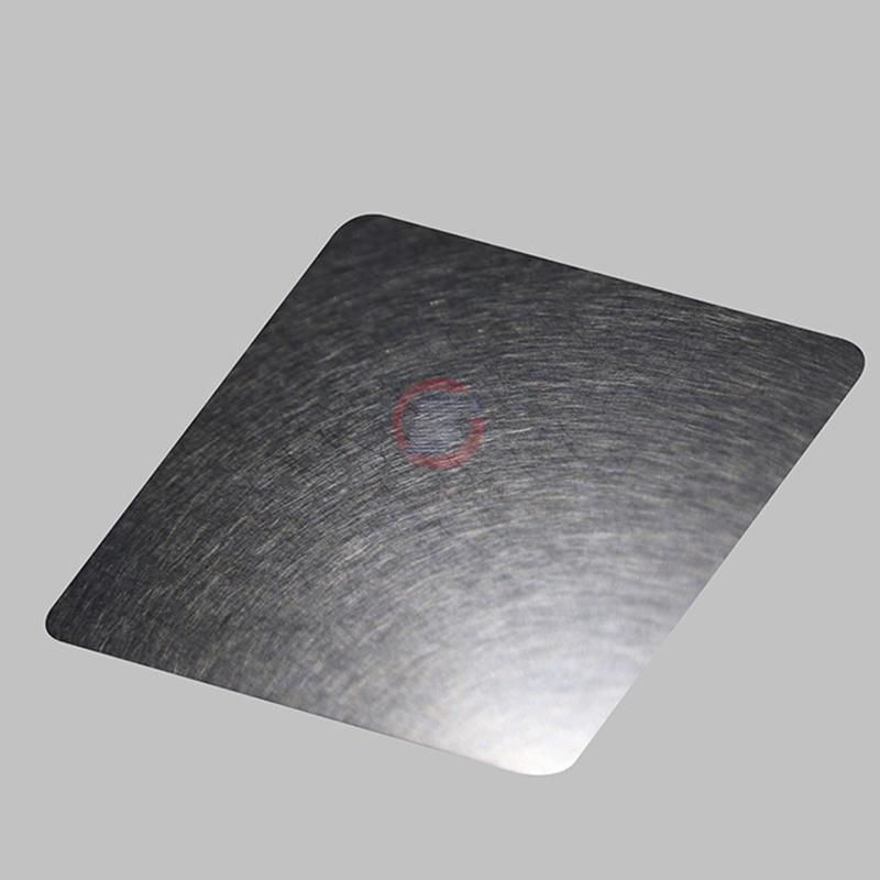 高比灰色和纹不锈钢板  所会彩色不锈钢装饰材料 1