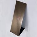 高比和纹不锈钢玫瑰金板 酒店装饰材料