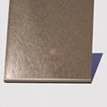 高比和紋不鏽鋼玫瑰金板 酒店裝飾材料 3