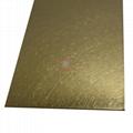 高比和紋鈦金 豪華不鏽鋼門板 4