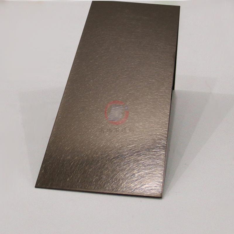 高比304不鏽鋼板和紋香檳金 1