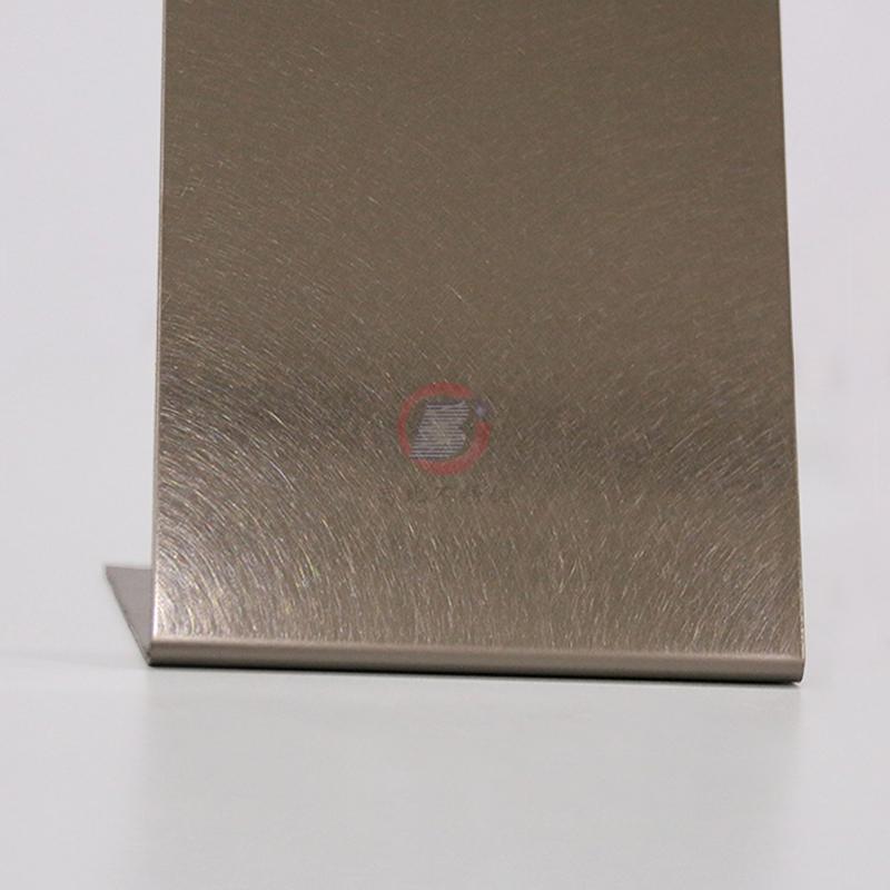 高比304不鏽鋼板和紋香檳金 4