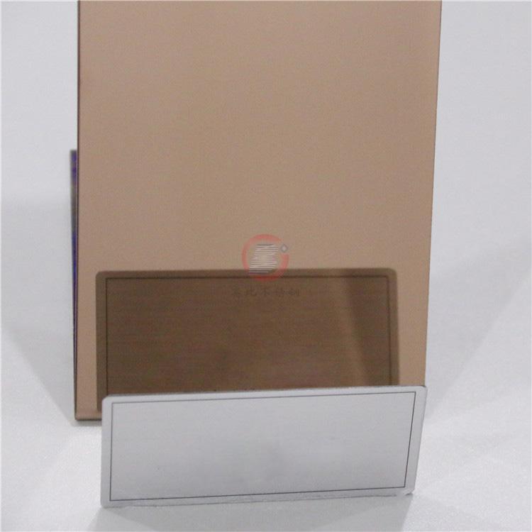高比鏡面古銅不鏽鋼 豪華衛浴裝飾材料 3