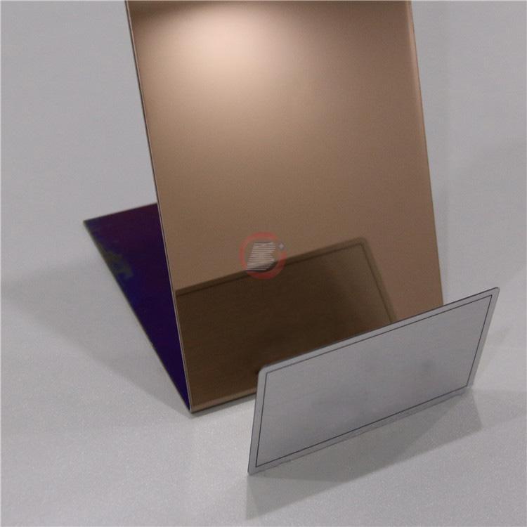 高比镜面古铜不锈钢 豪华卫浴装饰材料 4