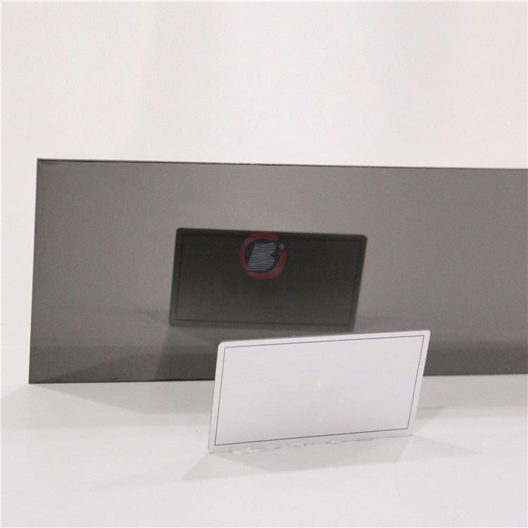 高比深黑色镜面不锈金  环保会所装饰材料 4