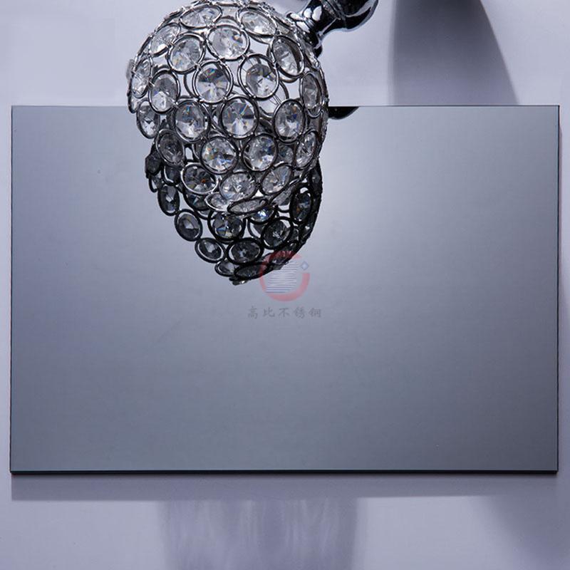 高比深黑色镜面不锈金  环保会所装饰材料 5