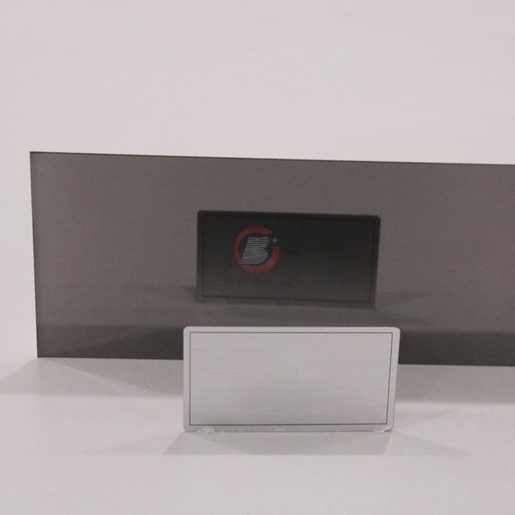 高比镜面电镀青黑色  家居厨柜不锈钢装饰璜材料 1