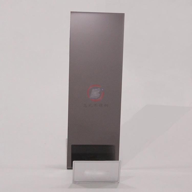 高比镜面电镀青黑色  家居厨柜不锈钢装饰璜材料 4