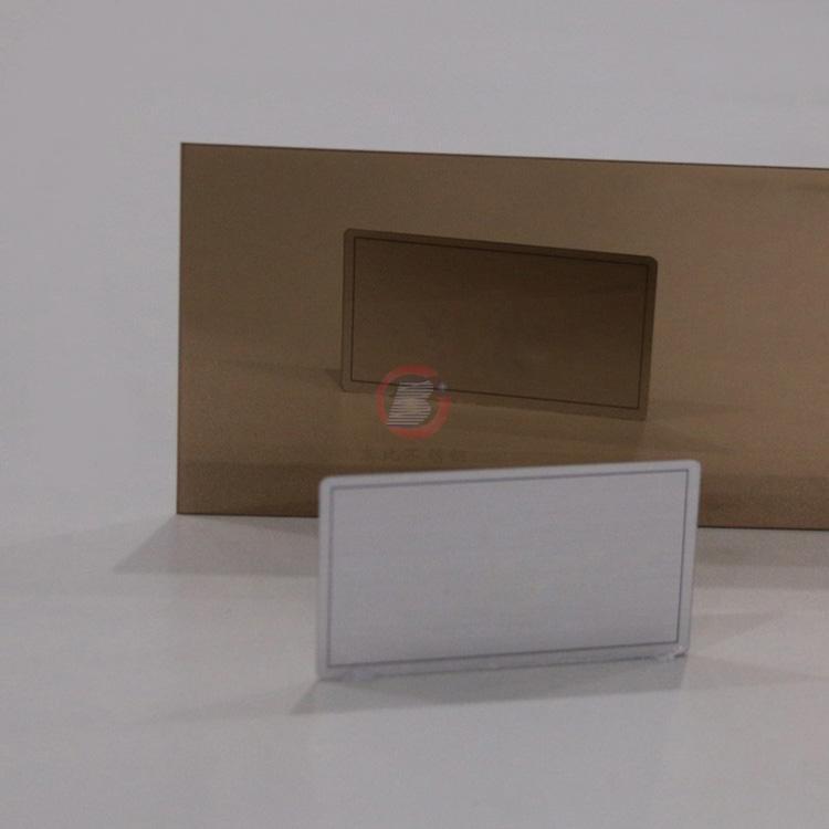 高比精磨镜面香槟金不锈钢板 304冷扎钢板总代销 1