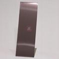 高比304發紋茶色不鏽鋼板 商場電梯不鏽鋼裝飾材料 2