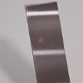 高比304發紋茶色不鏽鋼板 商場電梯不鏽鋼裝飾材料 3