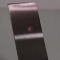 高比304發紋茶色不鏽鋼板 商場電梯不鏽鋼裝飾材料 4