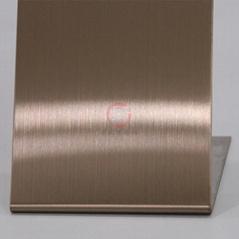 高比发纹不锈钢古铜色 优质304不锈金山表面处理加工