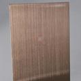 高比发纹不锈钢古铜色 优质304不锈金山表面处理加工 2