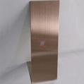 高比发纹不锈钢古铜色 优质304不锈金山表面处理加工 3