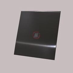 高比发纹真空镀深黑色 家居彩色304不锈钢装饰材料