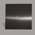 高比發紋真空鍍深黑色 家居彩色304不鏽鋼裝飾材料 2