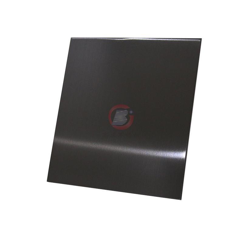 高比發紋真空鍍深黑色 家居彩色304不鏽鋼裝飾材料 4