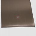 高比304不锈钢表面著色工艺 发纹真空镀玫瑰金价格