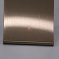 高比304不鏽鋼表面著色工藝 發紋真空鍍玫瑰金價格 5