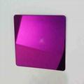 高比304镜面不锈钢紫红  2