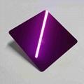高比304镜面不锈钢紫红  4