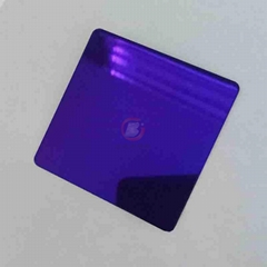 High ratio 304 Violet Mirror stainless steel
