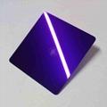 高比紫罗兰镜面不锈钢 家居彩色304不锈钢材料 2