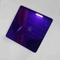高比紫罗兰镜面不锈钢 家居彩色304不锈钢材料 4