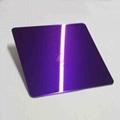 高比紫罗兰镜面不锈钢 家居彩色304不锈钢材料