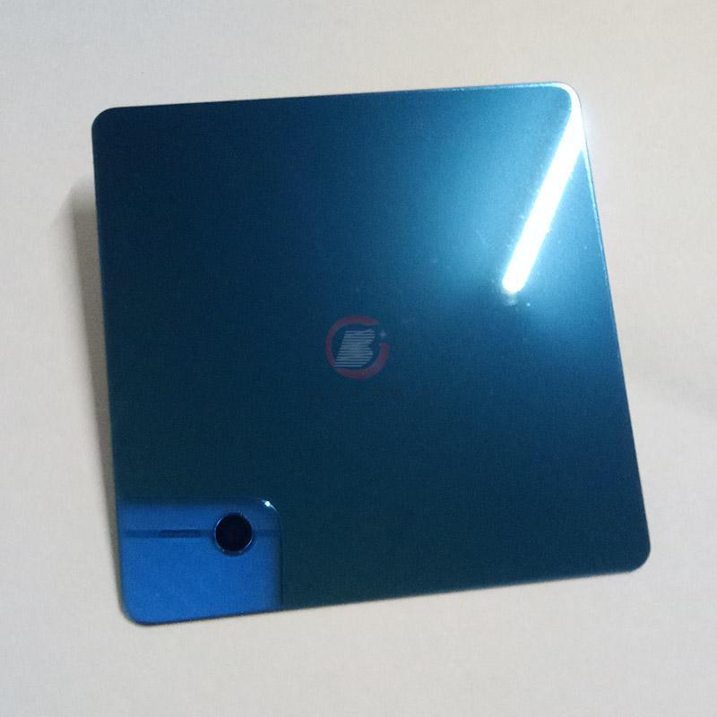 高比316不鏽鋼鏡面藍色 優質不鏽鋼廚櫃裝飾材料 3