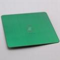 高比304不鏽鋼拉絲草綠色 環保不鏽鋼表面著色