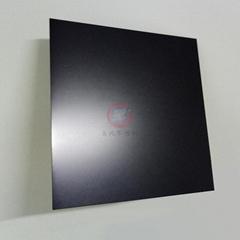 高比噴砂深黑色不鏽鋼板 啞光抗指紋鋼板加工生產