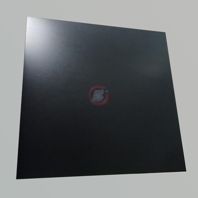 高比噴砂深黑色不鏽鋼板 啞光抗指紋鋼板加工生產 3