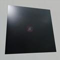 高比喷砂深黑色不锈钢板 哑光抗指纹钢板加工生产