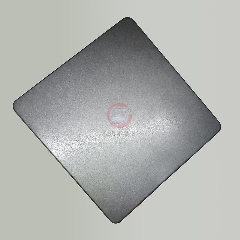 高比浅黑色喷砂不锈钢板 304不锈钢哑光抗指纹 5