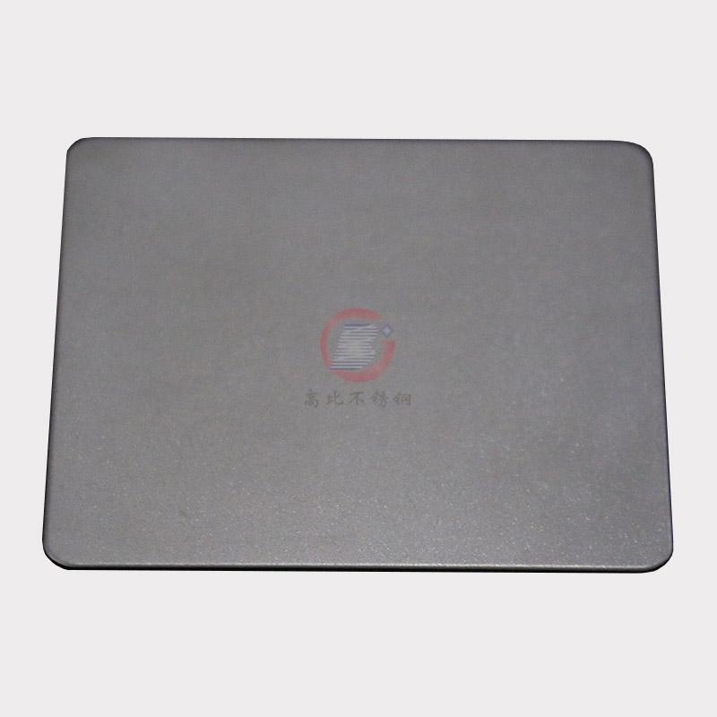 高比本色哑光喷砂不锈钢板 家具金属制品材料 1