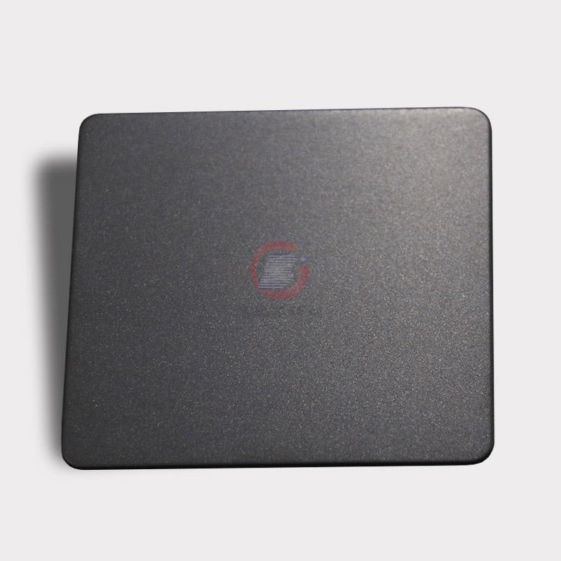 高比本色哑光喷砂不锈钢板 家具金属制品材料 3