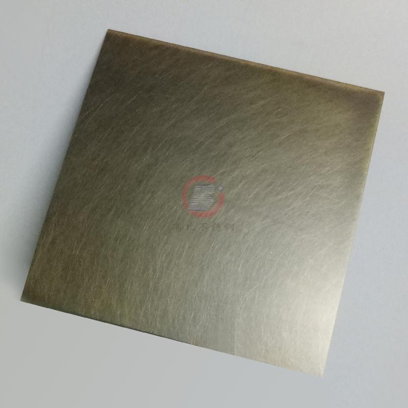 高比304仿青古铜乱纹不锈钢  彩色不锈钢门框