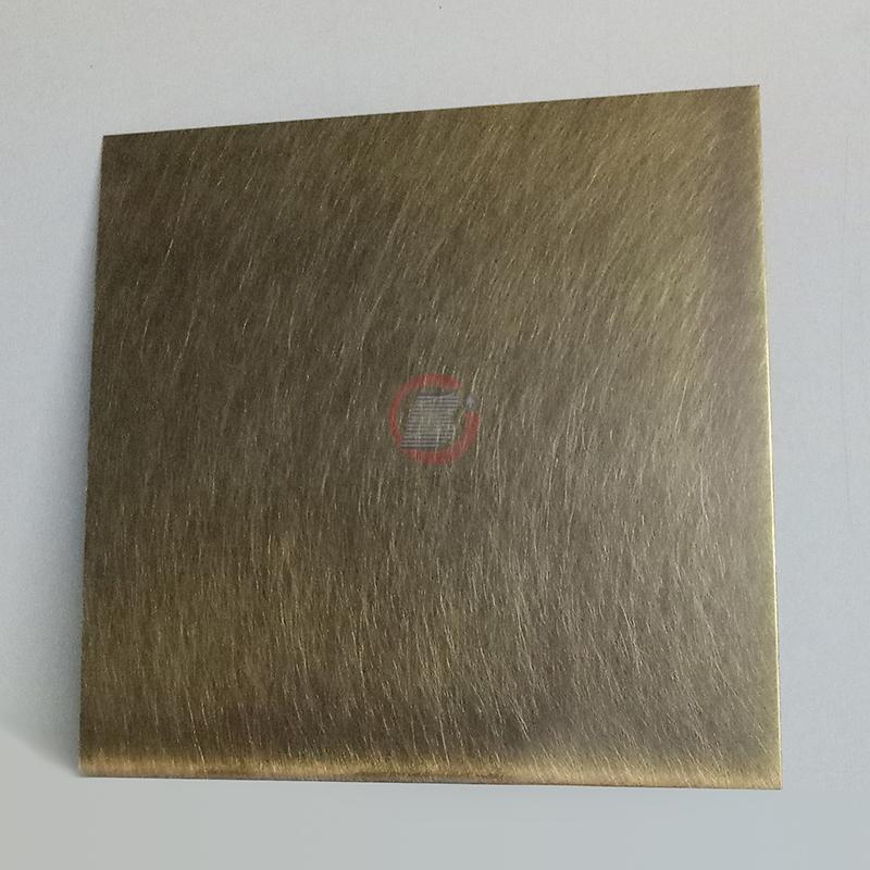 高比304機械亂紋啞光青古發黑鋼不鏽鋼  1