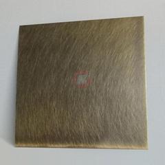 高比304機械亂紋啞光青古發黑鋼不鏽鋼
