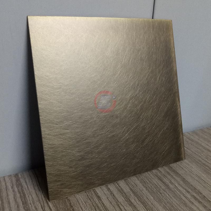 高比304機械亂紋啞光青古發黑鋼不鏽鋼  2