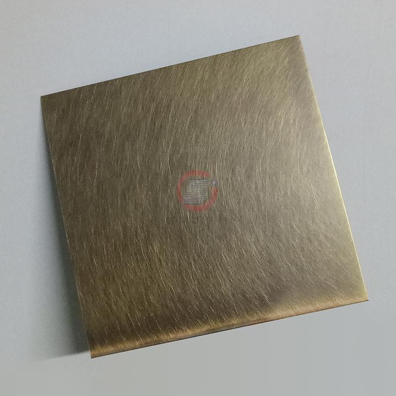 高比304機械亂紋啞光青古發黑鋼不鏽鋼  3