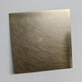 高比304機械亂紋啞光青古發黑鋼不鏽鋼  4